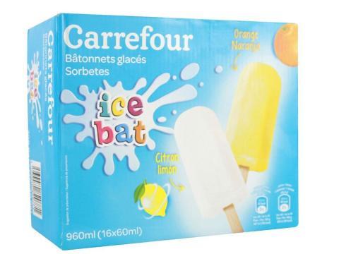 Carrefour Ice Bat Naranja