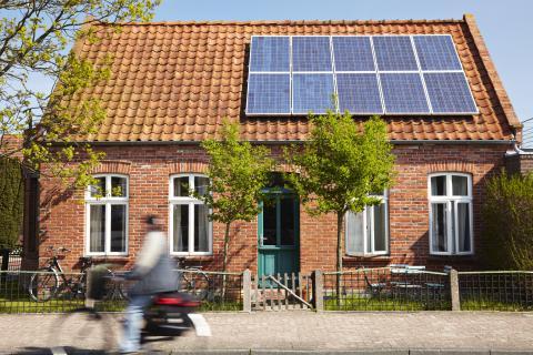Casa placas solares