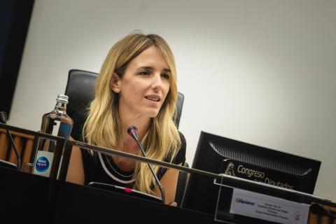 Cayetana Álvarez de Toledo, portavoz del PP en el Congreso.