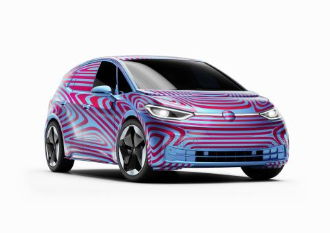 Volkswagen ID.3, el nuevo coche eléctrico de VW.