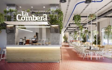 Comedor/Restaurante de la residencia de Barcelona