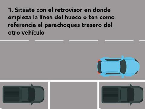 Cómo aparcar en línea a la primera