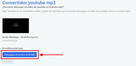 Cómo bajar canciones de YouTube sin programas