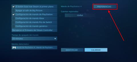 Cómo configurar el DualShock 4 en Steam