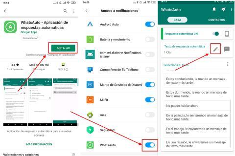 Cómo crear mensajes automáticos en WhatsApp