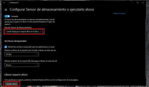 Cómo gestionar el almacenamiento en disco de Windows 10