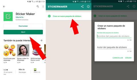 Cómo hacer stickers de Whatsapp