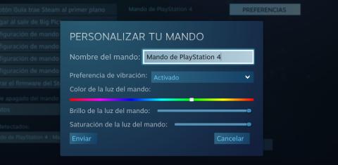 Cómo usar el DualShock 4 en Steam
