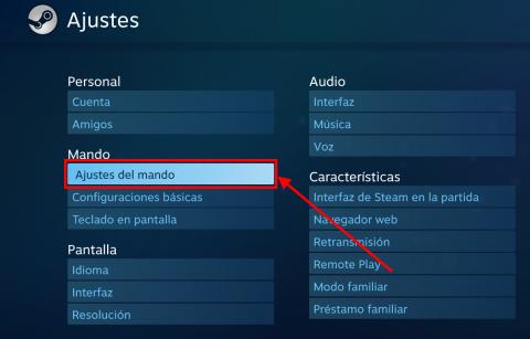 Cómo usar el mando de PS4 en Steam