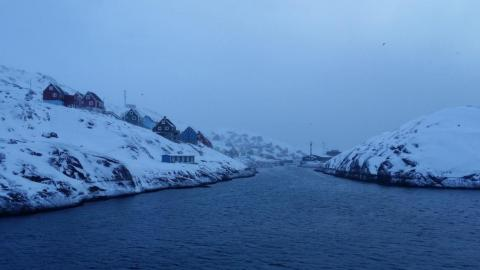 On day two, we visited Kangaamiut. Beautiful as it was, it felt strangely eerie.
