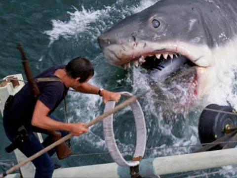 El Demogorgon se basó en el tiburón gigante en el primer éxito de éxito de Steven Spielberg. Tiburón / IMDB