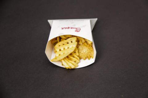 Despite the continuous controversy over Chick-fil-A's charity choices, its fries have their loyal fans.