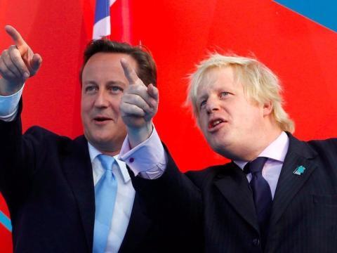 Después de que en 2015 circulasen rumores sobre la dimisión de Cameron, el nombre de Boris surgió como posible reemplazo. Cameron lo mencionó como posible sucesor.