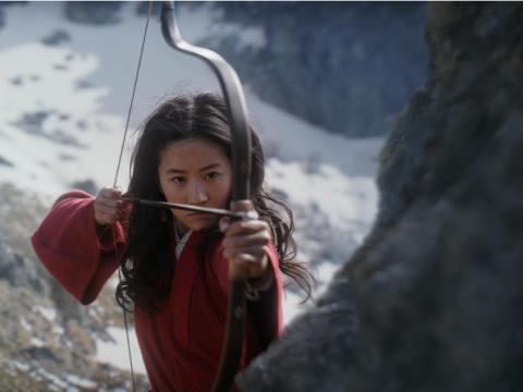 Yifei Liu will star as Mulan.