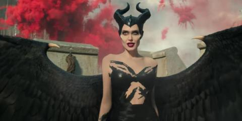 Angelina Jolie stars as Maleficent.