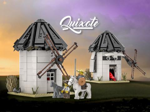 Don Quijote en versión LEGO