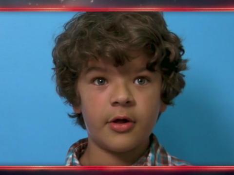 La cinta de la audición de Matarazzo para el papel de Dustin.