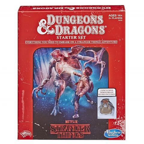Dungeons & Dragons de Stranger Things