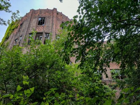 El edificio más grande de la isla fue uno de los últimos en terminarse: el pabellón de Tuberculosis