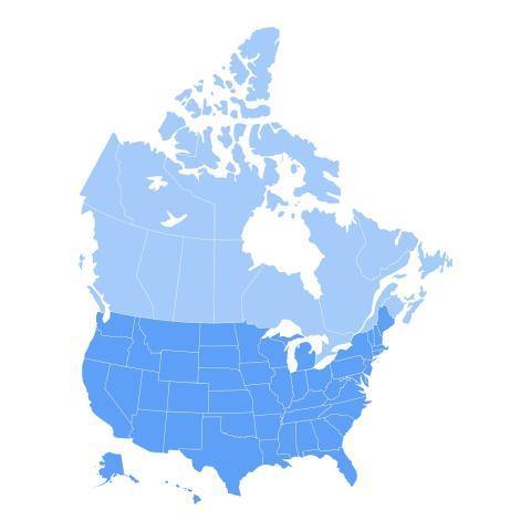 EE.UU. es el tamaño de la superficie que se debería repoblar