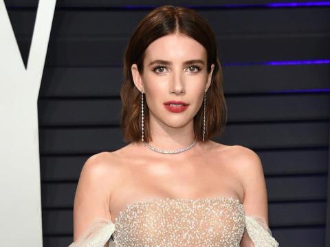 """Emma Roberts protagonizó """"American Horror Story"""" de FX."""
