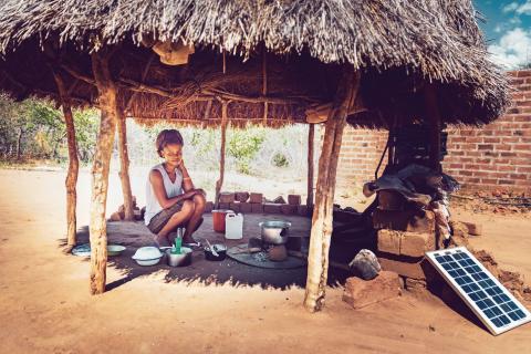 energia Solar aldea