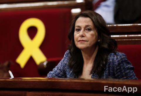 FaceApp: Inés Arrimadas