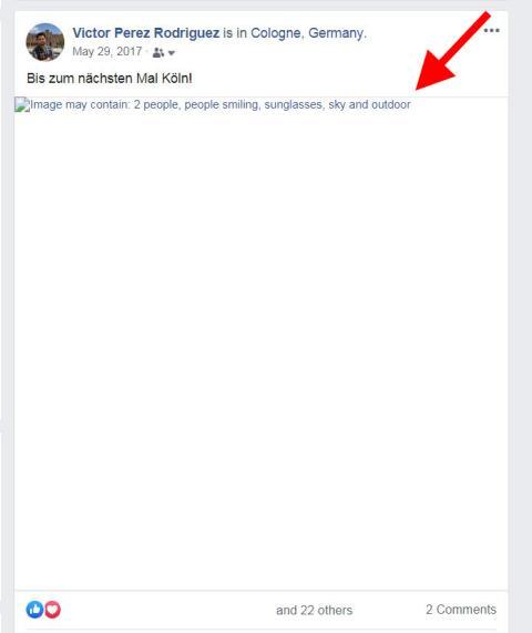 Fallo etiquetado imágenes Facebook Inteligencia Artificial