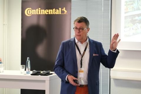 Félix Gress, director de Comunicación y Relaciones Públicas de Continental