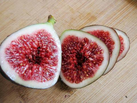 Figs have as much calcium as skim milk.