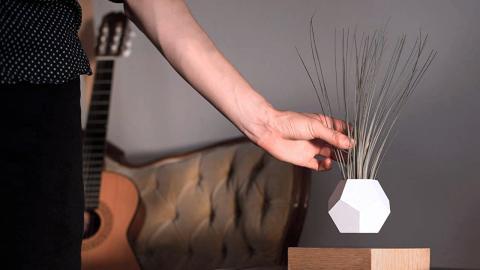 FLYTE Lyfe, el jarrón flotante inspirado en 'Regreso al futuro'