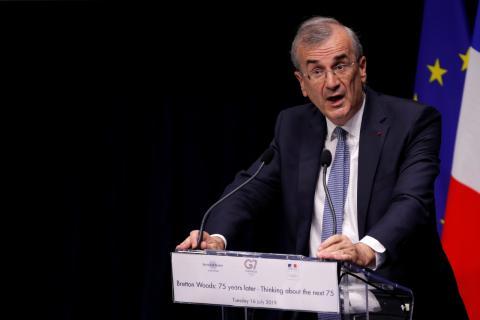 François Villeroy de Galhau, gobernador del Banco de Francia