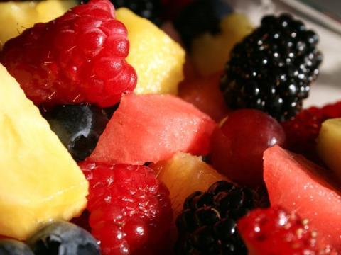 Frutas y verduras precortadas o prelavadas