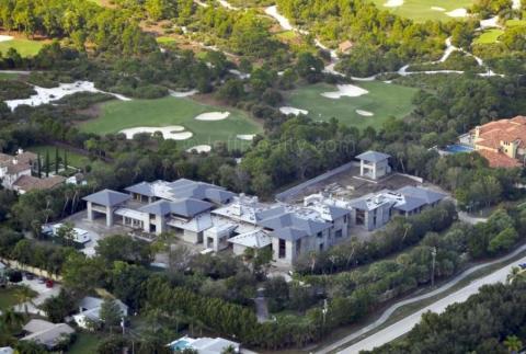 Se gastó 12,8 millones de dólares en construir la casa de sus sueños en Florida