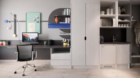 Habitación más cara residencia de Barcelona