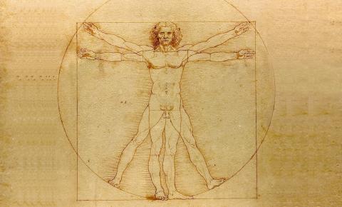 Hombre de Vitruvio (Homo cuadratus)