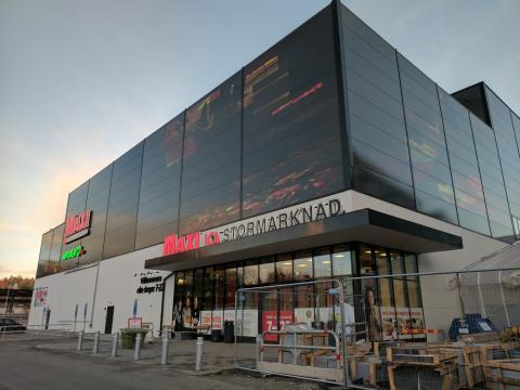 Un hipermercado del grupo Ica en Estocolmo