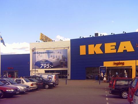 Ikea parking