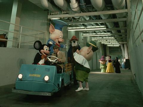 Los túneles debajo de Disney World que usan los miembros del equipo para moverse.