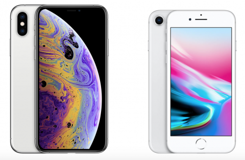 iPhone Xs vs iPhone 8