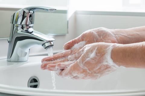 Jabón: lavarse las manos