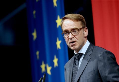Jens Weidmann, gobernador del Bundesbank alemán