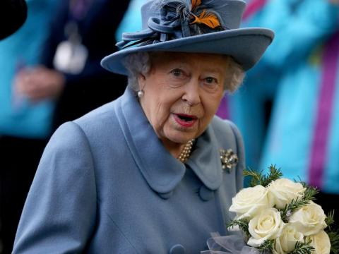 Queen Elizabeth II, pictured on a visit to Hull last month.