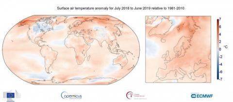 June 2019 was the hottest on record, and climate scientists predict July could also reach record temperatures.