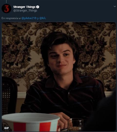 Netflix anunció a Kentucky Fried Chicken en Twitter