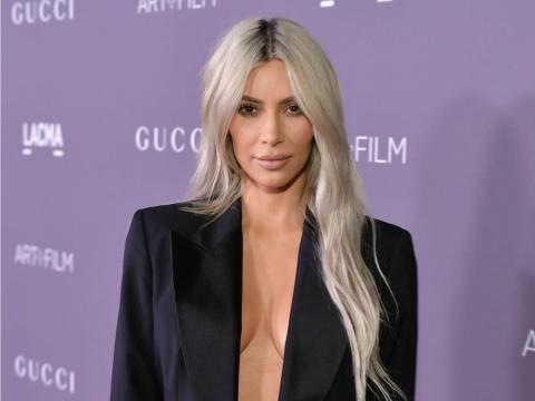 Kim Kardashian West está casada con el rapero y productor Kanye West.