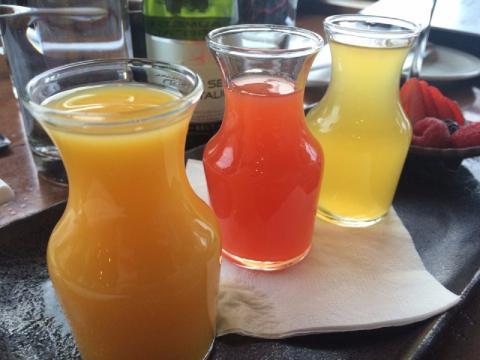 Leche y zumos sin pasteurizar