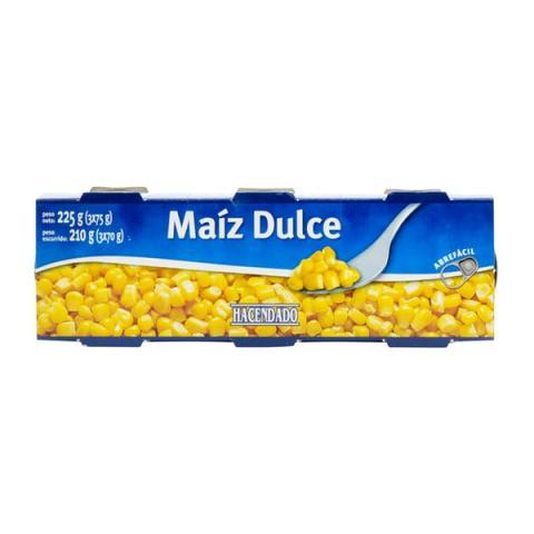 maiz dulce hacendado
