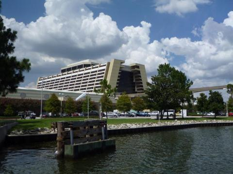 A man caused a lockdown of Disney's Contemporary Resort.