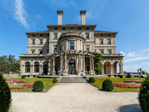 A mansion in Newport, Rhode Island.
